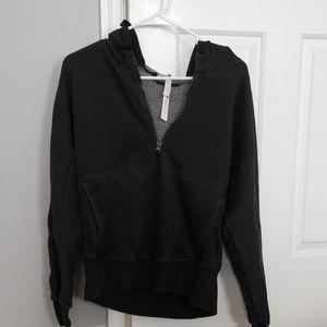 Free people half-zip hoodie